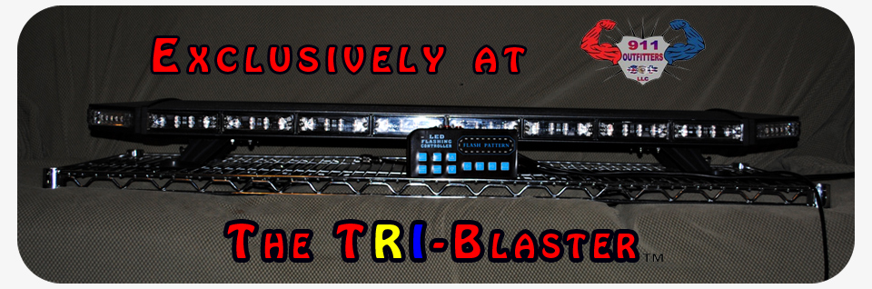 TRI-Blaster 3 Watt LED Light Bar