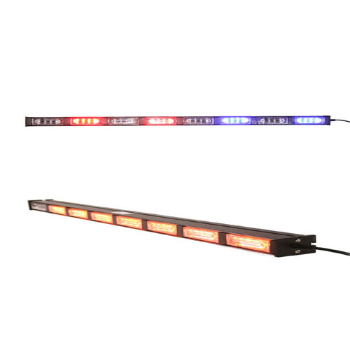 PL4-D8 Dual Color Traffic Advisor w/ Linear Lens