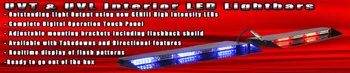 UVL Linear4 Interior LED Lightbar